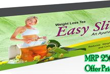 Easy Slim Tea / EASY SLIM TEA helps in improving your digestion system by elimination excessive oil from your body. increase Body Metabolism:  Easy Slim Tea It reduces body weight and provides great shape. It helps in improving waistline and hipline. The slimming tea detoxifies body from inside and reduces the problems of constipation and gas formation. The product also provides relief to the people suffering from heaviness and body pain. It makes you feel light and boost energy levels.