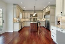 Completed Flooring Projects with ECF® / Photos of completed laminate and wood floor projects.