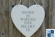 Decor Ideas - Home Is Where the Heart Is