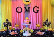 Emojis birthday party