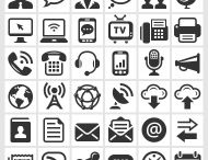Concept of the Day / Royalty free Vector icons and illustrations