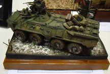 AFV scale models