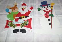 Téli dekoráció / Papír dekoráció