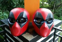 $325 FREE Shipping Worldwide ( Deadpool Helmet) / Products description :  Deadpool Mask made of fiber glass + the real helmet inside with good paint. * The Shield Can be opened and comes with black shield  * Added 2 LED Lights. * LED lights color available : BLUE, GREEN N RED + On/Off Switch * Size Available M.L.XL * The Helmet basic has a DOT Approved * We Ship Worldwide * Color & Airbrush by Request  To see more design, Go Follow Us on #Instagram @doctorhelmet