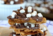 | gf s'mores | / s'mores that are easily converted to gluten free. / by MeLissa Rocco