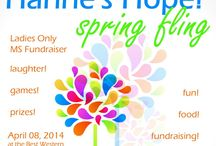 Hanne's Hope! Spring Fling / Fun. Shopping. And Fundraising. All at the same time! What could be better than that?! Fundraiser for the MS Walk in memory of my sister, Hanne.