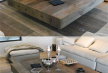 Wooden tables / handmade wooden table