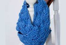 Crochet Accessoires / Crochet your own Cowl, Shawl and Scarf