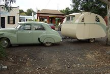 Cutie Campers / I love camping & campers, especially oldies refurbished!  / by Phyllis Pickett
