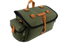 ZIMBALE Bicycle Waterproof Canvas Saddlebag  - 7 Liter Capacity - 10.6 X 7.19 X 5.9 (inch)