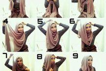 hijap şal