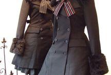 軍服ワンピース