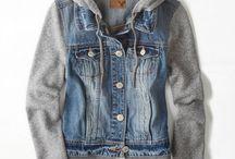 sweater + jacket + coat