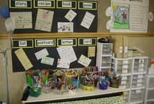 Writing Stations and Ideas / A collection of ideas for pre-writing (fine motor) and writing with young children.