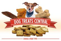 Dog Chews & Treats / There's no better way to reward your dog than with a tasty dog treat! Here at EntirelyPets we carry a wide selection of healthy dog treats for great prices! / by EntirelyPets.com