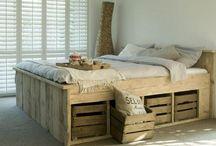 Steigerhout / Steigerhouten meubelen en accessoires