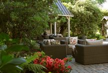 Intimate Garden spaces at The Inn on Randolph