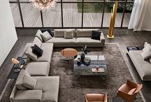 Interiors. Living rooms