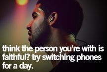 Drake's wise words