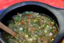 Recetas: salsas y aperitivos