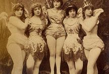 19th century vaudeville & burlesque / Women in 19th century variety shows