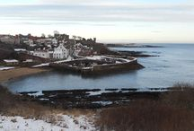Wintery Crail / The sun doesn't always shine! / by Caiplie House