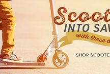 Scoot into Saving / Shop scooters now at HowardStore.com. Every item ships free!