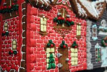 _Gingerbread House Traditional / Gingerbread Gingerbread house Gingerbread houses Christmas cookie Cookie House Cookie Houses Christmas Lebkuchen