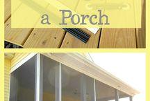 screen porches