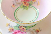 Tea cups and saucers..