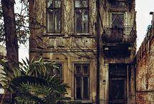 Bucharest ruins
