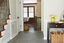 foyer tile / by Lisa Wolfe