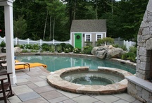 Pool Houses and Sheds / Pool house and shed ideas.