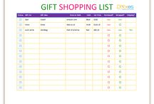 List Templates - Dotxes / Don't forget anything, use list templates