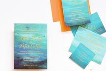 ocean blue wedding theme