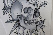 Skull - koponyás