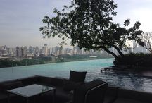 Sofitel So Bangkok / The view from the pool