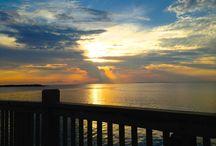 Sunrise and Sunset Photos / Sunset over Galveston Bay, Sunrise over the Texas Gulf Coast. All on Bolivar Peninsula Texas and Crystal Beach Texas. #photograph, #sunset, #sunrise, #crystalbeachtexas