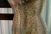 Манекены. art dress form