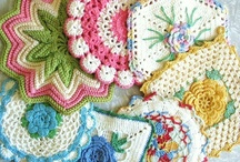 TRIVETS & POT HOLDERS, OVEN MITTS & APRONS / by Lisa Georgette