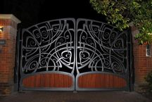 Blacksmith designed & made gates / A selection of gates designed and made by West County Blacksmiths.  West Country Blacksmiths are a unique team of blacksmiths, metalworkers, engineers and designers based in Somerset, who design and produce all types of beautiful metalwork.  To find out more please visit - www.westcountryblacksmiths.co.uk