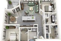 Planos de los apartamentos