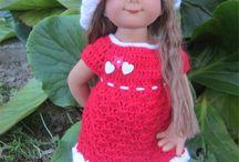 Poupées Wichtel / Mes créations au crochet pour les poupées Müller Wichtel : Patrons et tenues disponibles dans ma boutique