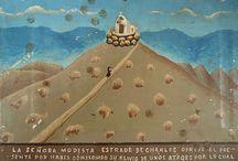 Ex-Votos de Parras / Os ex-votos de Santo Madero de Parras, são em sua maioria retábulos, constituem um acervo de cerca de 120 ofertas votivas feitas entre 1860 a 2006, as tipologias ex-votivas que formam o acervo vão de fotografias, desenhos e vários objetos que foram deixados pelos fiéis nesse santuário. .imagens de: Javier Exvoto Escareno http://www.inah.gob.mx/boletines/6-museos-y-exposiciones/6933-exvotos-de-parras