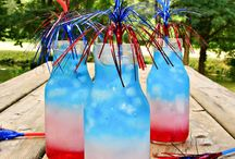 DIY Outdoor July 4th / Make your yard a tribute to independence.