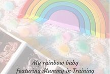 BABY LOSS: Rainbow babies / My rainbow baby is a blog series that I have created on my blog. In this series I will regularly share the stories of other people's rainbow babies. The beautiful babies that have been born following baby loss. #babyloss #babylossawareness #miscarriage #stillbirth #rainbow #rainbowbaby #myrainbowbaby #hope #babyafterloss