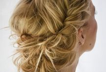 Hairstyles to try :) / by Rebecca Hardin