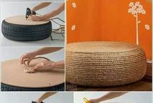 old tyre projects