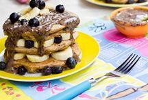 Vegan Pancakes Galore / The Best #Vegan Pancake Recipes