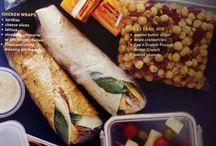 Lunches/Snacks / by Miranda Hayden